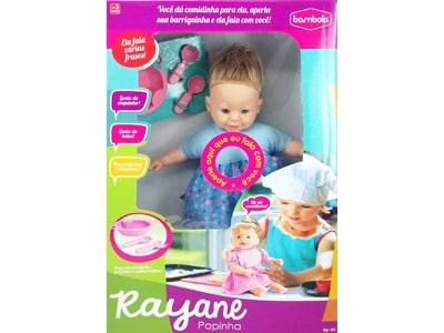 Boneca Rayane Papinha