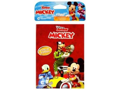 Mini Livro Mickey