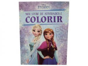 Meu Livro de Atividades e Colorir Frozen